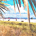 Siesta Key In Fall by Susan Molnar