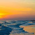 Siesta Key Sunset Walk by Susan Molnar