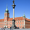 Sigismund's Column And Royal Castle In Warsaw by Artur Bogacki