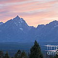 Signal Mountain Grand Teton National Park by Fred Stearns