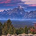 Signal Mountain Sunrise by Mark Kiver