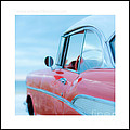 Signed Chevy Belair At The Beach Mini by Edward Fielding