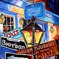 Signs Of Bourbon Street by Diane Millsap