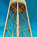 Sikeston Water Tower Iv by Debbie Portwood