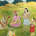 Sikh Painting by Munir Alawi