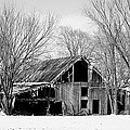 Silent Barn In The Winter by Robyn Pervin