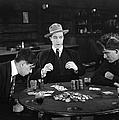 Silent Film Still: Gambling by Granger