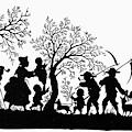 Silhouette Family Life by Granger