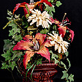 Silk Flowers by Jeff Burton