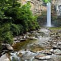 Silken Water Summer Waterfall by Lori Sulger