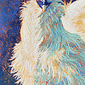Silkie Rooster by Tracy L Teeter