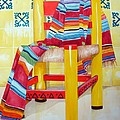 Silla De La Cocina--kitchen Chair by Kandyce Waltensperger