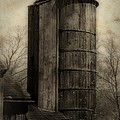 Silo At Sunrise by RC DeWinter
