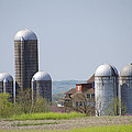 Silos - Norristown Farm Park by Bill Cannon