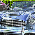 Silver 1963 Austin Healey Roadster 3000 by Eti Reid