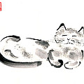 Silver Cat by Janet Gunderson