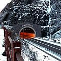 Silver Creek Tunnel by Bryan Benson