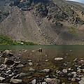 Silver Dollar Lake Colorado by Robert VanDerWal