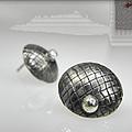 Silver Earrings by Vesna Kolobaric