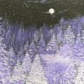 Silver Night  by Irina Astley