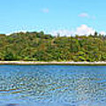 Silver Sands Of Morar Panorama by Chris Thaxter