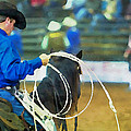 Silver Spurs Rodeo Outrider by Alice Gipson