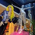 Silver Statue by Ed Weidman