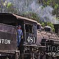 Silverton Engine 481 by Janice Pariza