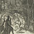 Simon, The Lovelorn Cook, The Fortune Teller by Caspar Luyken And Pieter Van Rijschooten