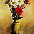 Simple Bouquet by Diane Dugas