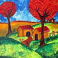 Simple Dreams Acrylic Painting by Prajakta P