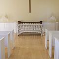 Simple Sunlit Chapel by Ann Horn