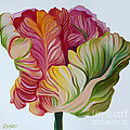 Simple Tulip by Debbie Hart