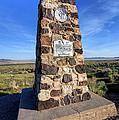 Simpson Springs Pony Express Station Monument - Utah by Gary Whitton