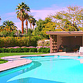 Sinatra Pool Cabana Palm Springs by William Dey
