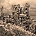 Sinclair Castle Scotland - 2 by Paul Cannon