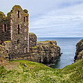Sinclair Castle Scotland - 4 by Paul Cannon