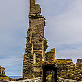 Sinclair Castle Scotland - 6 by Paul Cannon