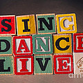 Sing Dance Live by Art Whitton