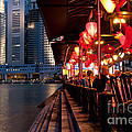 Singapore Boat Quay 03 by Rick Piper Photography