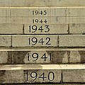 Singapore Cenotaph Monument Yearly Steps For World War Two by Imran Ahmed