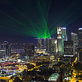 Singapore Central Business District Skyline by Jit Lim