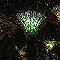Singapore Lights by William Hadala