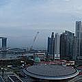 Singapore Skyline by Dasmin Niriella