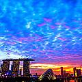 Singapore Skyline by Jijo George