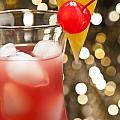 Singapore Sling Cocktail by U Schade