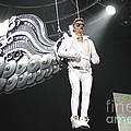 Singer Justin Bieber by Concert Photos