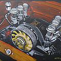 Singer Porsche Engine by Richard Le Page