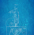 Singer Sewing Machine Patent Art 1851 Blueprint by Ian Monk