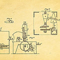 Singer Sewing Machine Patent Art 1855 by Ian Monk
